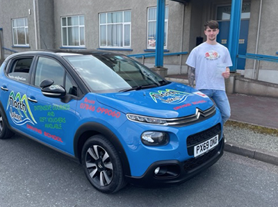 Another Successfull student of North Lakes Driving School.