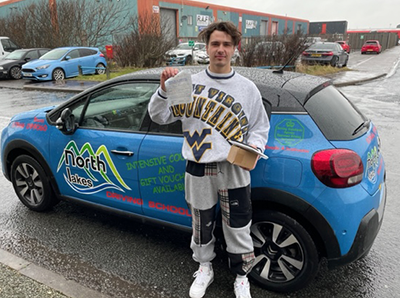 Another Successfull student of North Lakes Driving School